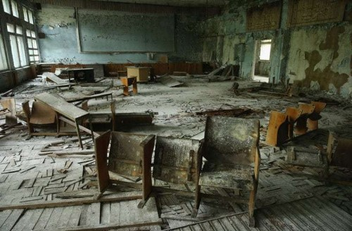 Chernobyl, an abandoned city: in pictures