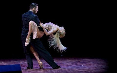 Russian dancer disqualified from tango championships for punching partner