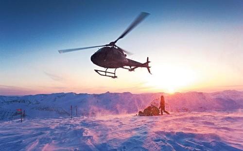 Heli-skiing in Iceland: the flight fantastic