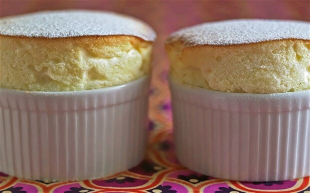 Valentine's Day recipes: passion-fruit soufflé