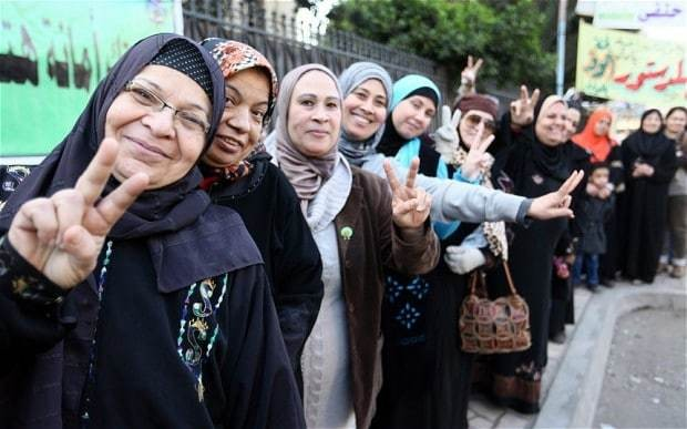 Egypt votes overwhelmingly for military-backed constitution