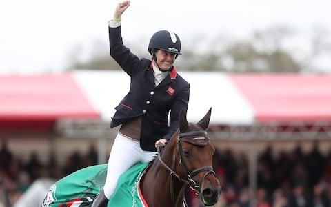 Piggy French basks in 'fairytale' glory of Badminton Horse Trials