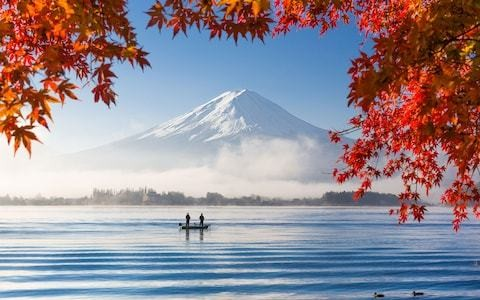 Powder-white beaches and peaceful temples on a voyage around Japan