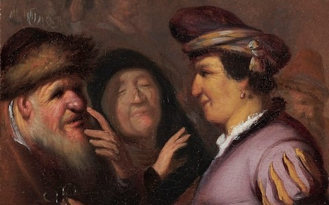 Young Rembrandt review, Ashmolean: greatness in the making, from beggars to bulbous noses