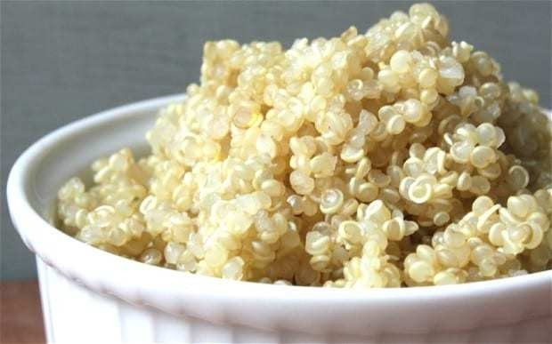 Daily bowl of quinoa could save your life, says Harvard University