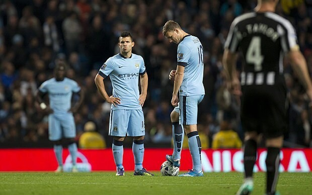 Manchester City have to put their defensive travails to bed or Manchester United and Angel Di Maria will run riot