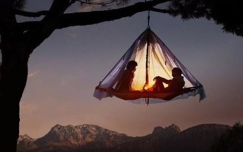 Something special: extreme camping, Germany