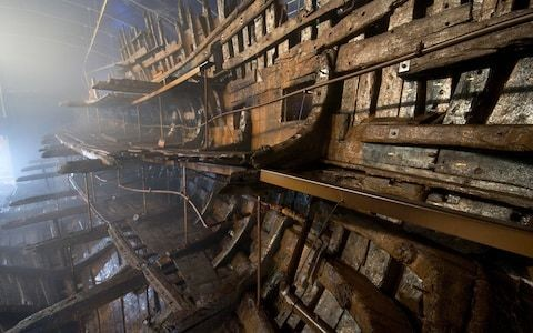 No more Mary Rose-style excavation as ships will be explored using VR instead
