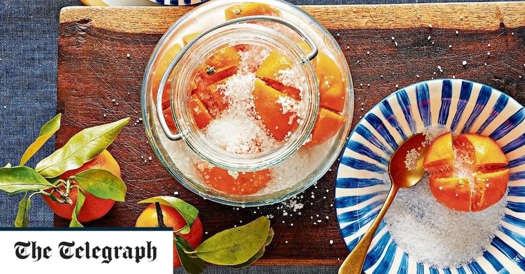 Salted mandarins recipe