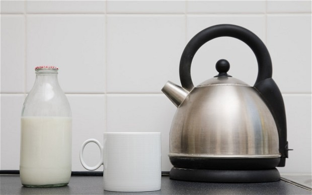 Why your kettle could take longer to boil when the wind isn't blowing