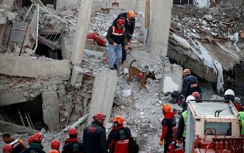 Turkey's Recep Tayyip Erdogan hits back at criticism of earthquake readiness as death toll reaches 35