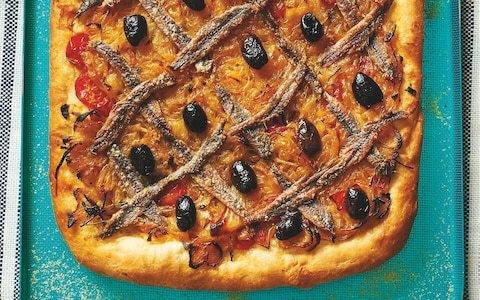 Easy pissaladiére anchovy tart recipe
