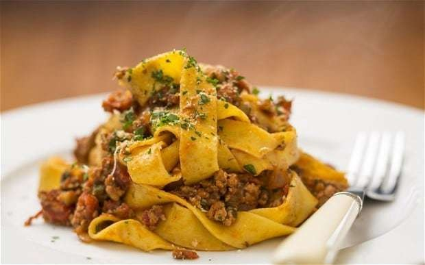 Speedy weeknight suppers: turkey ragu with pappardelle recipe