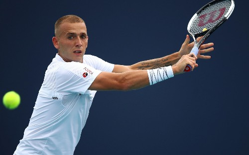 Dan Evans given point penalty for two code violations during qualifying loss but gains 'lucky loser' pass to main draw in Miami