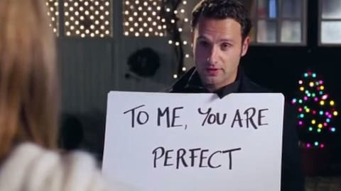Andrew Lincoln thought his Love, Actually character was a stalker, too