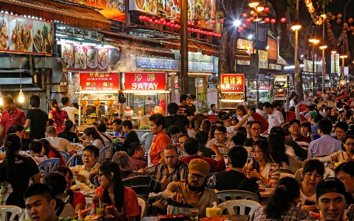 The 10 greatest cities for street food