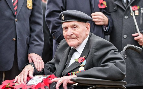 Blind veterans' march reminds us of the importance of sight loss research