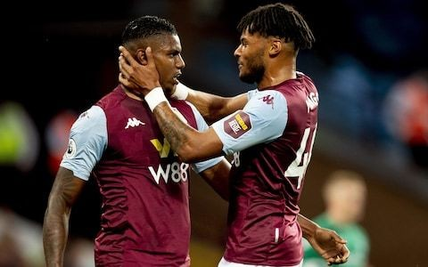 Aston Villa end long wait for Premier League victory as Wesley and Anwar El Ghazi put lacklustre Everton to sword
