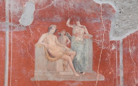 Newly found inscription at Pompeii rewrites the history of the eruption of Mt Vesuvius