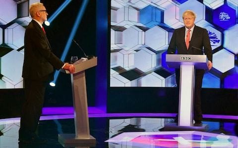 Who won the BBC debate? Boris Johnson's best performance saw off Jeremy Corbyn and his Santa-sack of freebies