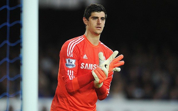 Thibaut Courtois signs new five-year contract at Chelsea