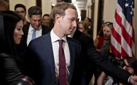 Mark Zuckerberg dines with critical US politicians in rare visit to Washington DC