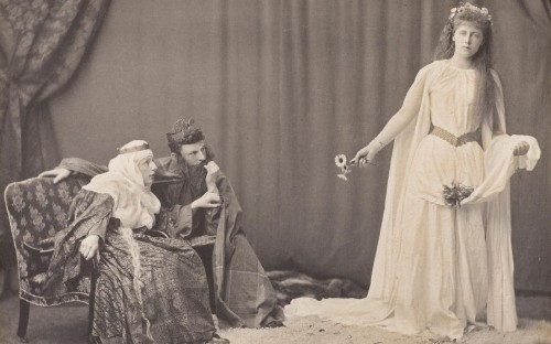 Lost album shows the ill-fated granddaughter of Queen Victoria at play