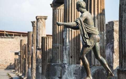 Unexploded World War Two-era bombs lurking beneath ruins of Pompeii