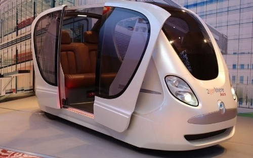 Driverless pods will be on the roads of Singapore by the end of the year