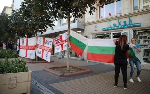 England football fan dies in Bulgaria