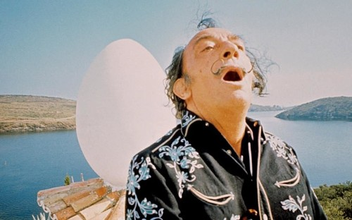 'I had no choice but to strip to my pants and follow Dalí into the sea'