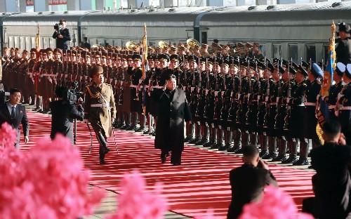 Kim Jong-un heads to Vietnam by train ahead of Trump summit