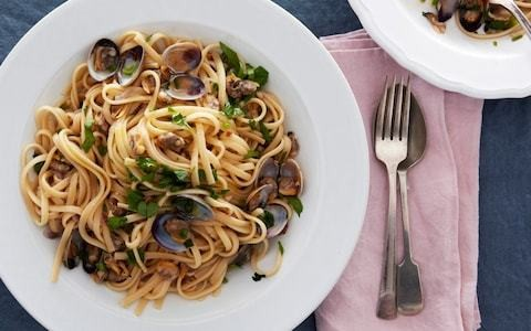 Linguine with clams recipe (cooked like risotto)