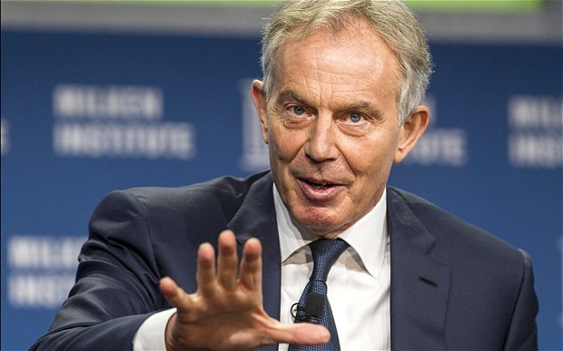 Tony Blair 'copied Adolf Hitler's oration techniques' says Boris Johnson