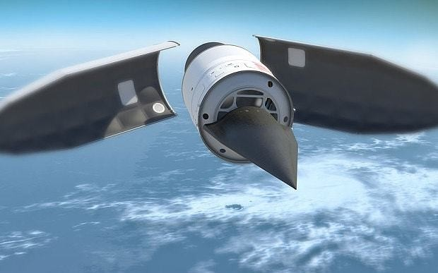 Experimental US hypersonic weapon destroyed seconds after launch