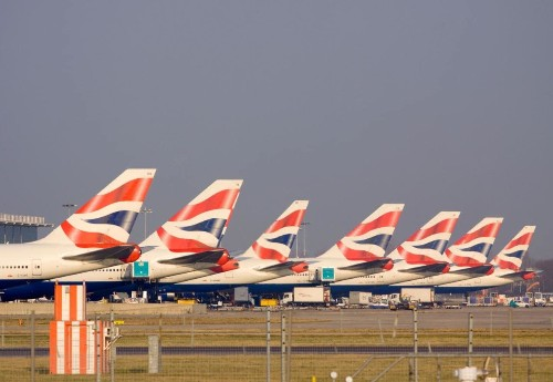 How many planes are there in the world right now?