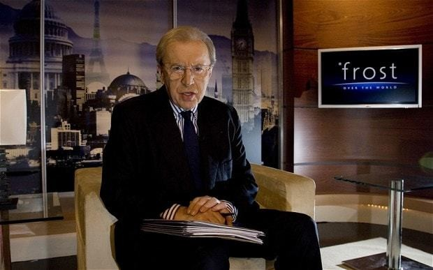 Sir David Frost dies of heart attack on cruise ship