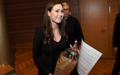 Finland's new 34-year-old prime minister is the world's youngest