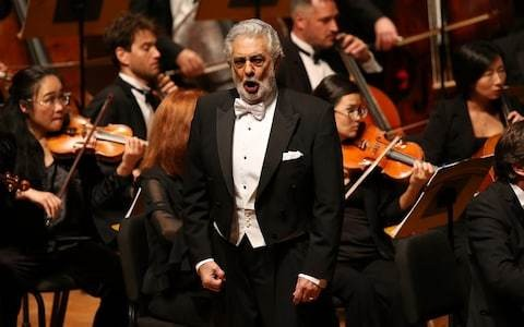 Royal Opera House to go ahead with Placido Domingo performances in wake of sexual harassment allegations