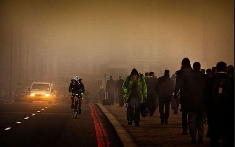 Air pollution affects happiness not just health, scientists find