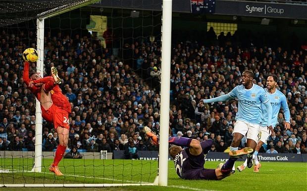 Manchester City v Liverpool: live