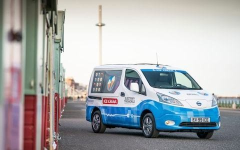 Nissan launches first electric ice cream van that tweets instead of playing jingle