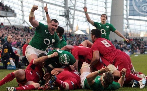 Ireland 26 Wales 3, Six Nations: match report