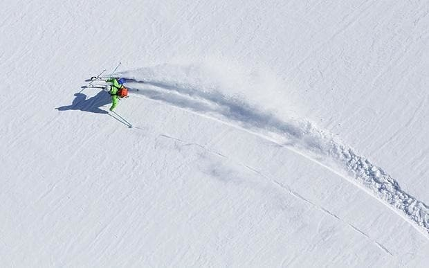 Can ski lessons really transform lazy technique?