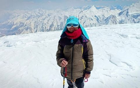 10-year-old Pakistani schoolgirl sets 7,000m mountain record and aims for Everest