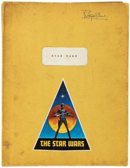 Star Lots: Original Star Wars sketches to go under the hammer - Telegraph