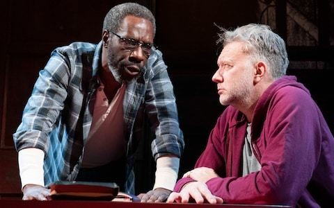 The Sunset Limited, Boulevard Theatre, review: Cormac McCarthy two-hander that drips with sadness and tenderness