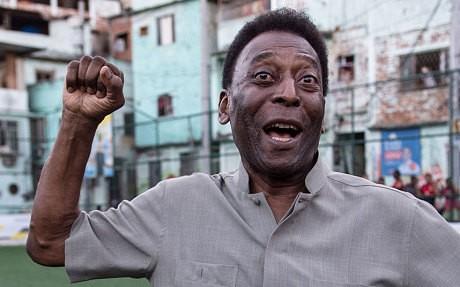 Pelé unveils unique football pitch where players' energy produces electricity