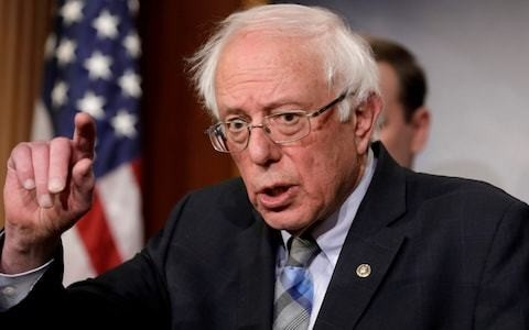 Bernie Sanders among top one per cent of US earners, newly released tax returns show