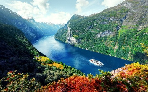 Ten reasons to visit the Norwegian fjords by cruise ship